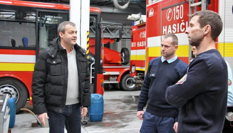 Štefanský výjazd trenčianskeho župana neobišiel ani hasičov v Púchove