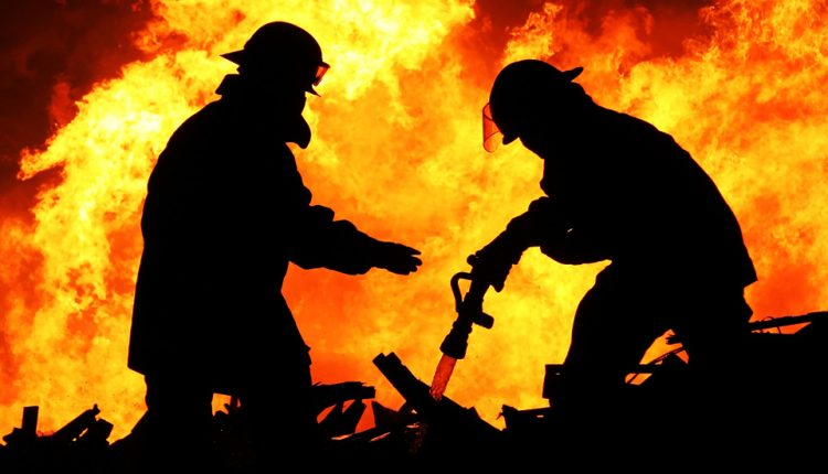 V stredu večer horelo v budove bývalej školy