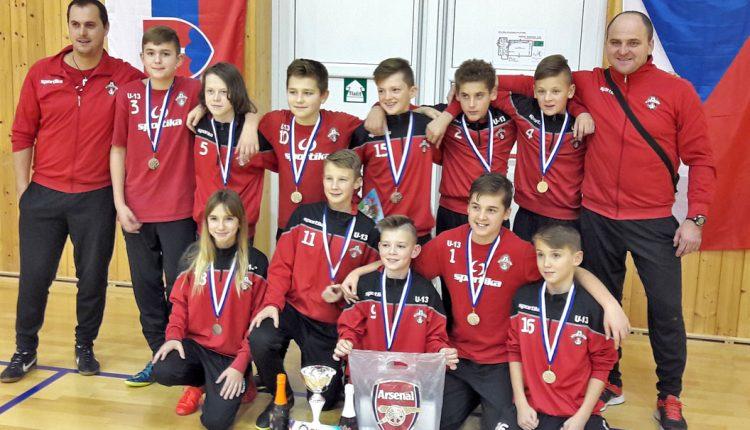 Medzinárodný halový futbalový turnaj U13 v Břeclavi – Valtice