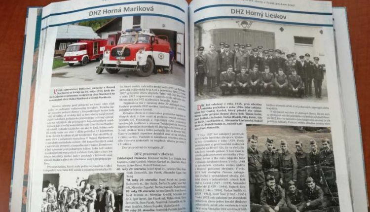 Kraj vydáva takmer 400-stranovú knihu o dobrovoľných hasičských zboroch