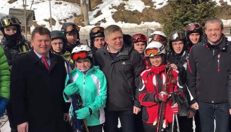 Fico navštívil Lazy pod Makytou, chválil podporu lyžiarskych kurzov