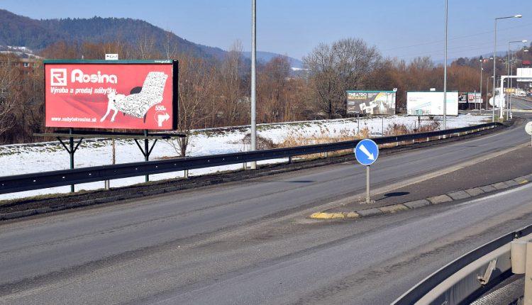 Ďalšie billboardy pri diaľničnom privádzači zatiaľ nepribudnú
