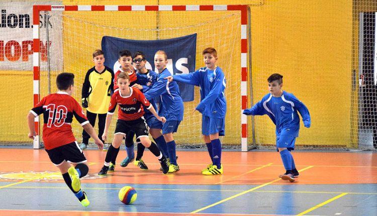 Víťazný domáci turnaj pre futbalových mladších žiakov