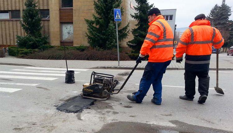 Spomaľovacie prahy na Moravskej ulici sa dočkali opravy