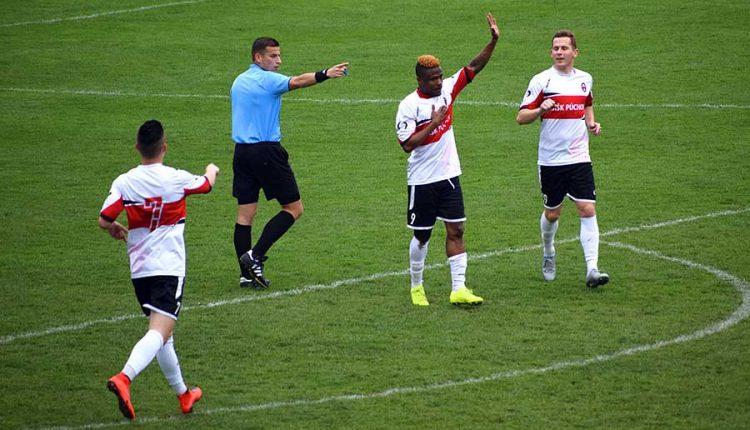 Prvé dva góly Kingsleya Ihemeho, vyhrali aj Beluša a Lednické Rovne