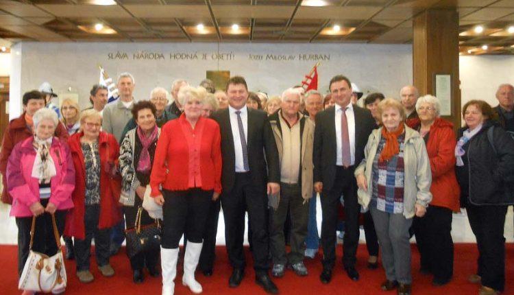 Na návšteve v slovenskom parlamente