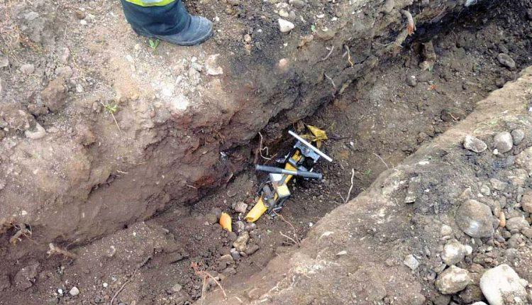 Pri výkope nechtiac poškodili plynové potrubie