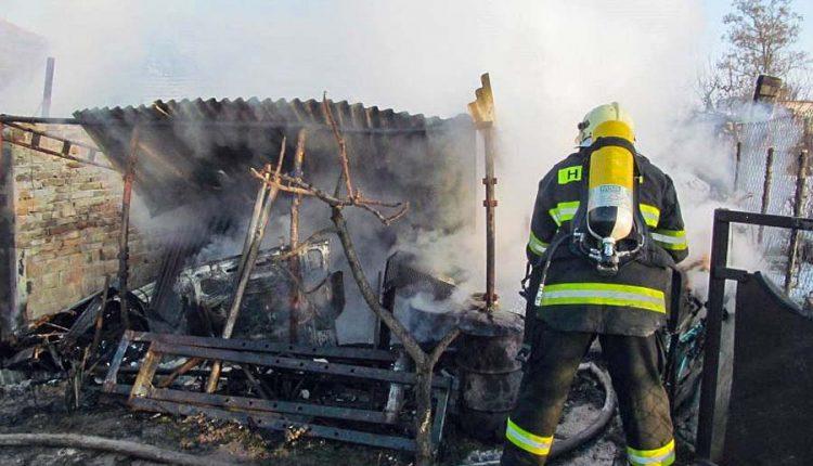 V okrese Púchov horela pivnica rodinného domu