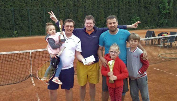 Tenisový memoriál Hrehora Luhového: Turnaj vo štvorhrách vyhrala trojica
