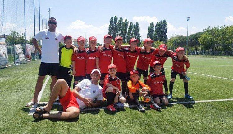 Prípravka U 10 úspešne na turnaji v Taliansku