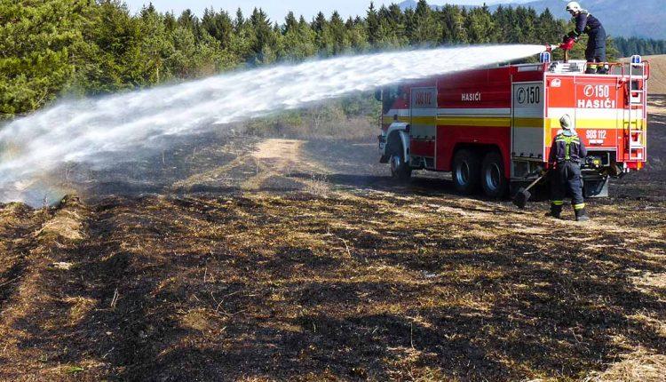 Ďalší nebezpečný požiar lesného porastu