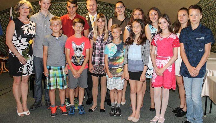 Primátor Rastislav Henek ocenil najlepších žiakov
