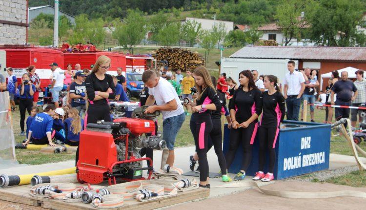 Dolná Breznica hostila šieste kolo detskej hasičskej ligy