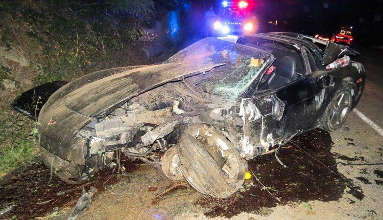 Dopravná nehoda neďaleko obce Nimnica