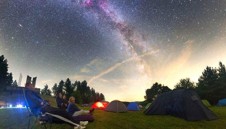 Nočné nebo opäť skrášli meteorický roj