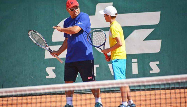 Tenisový kemp známeho trénera Mariána Vajdu