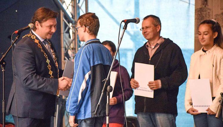 Ocenenie úspešných reprezentantov mesta Púchov