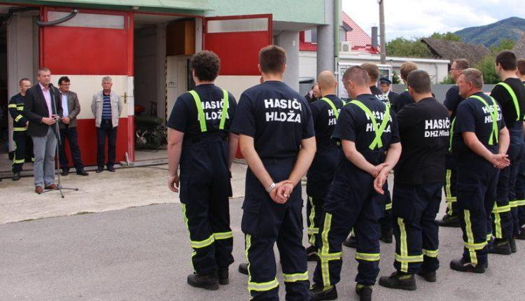 Dobrovoľní hasiči z Hlože oslavujú 90-ročnicu