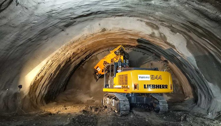 Na stavbe tunela Diel začali prvé odstrely