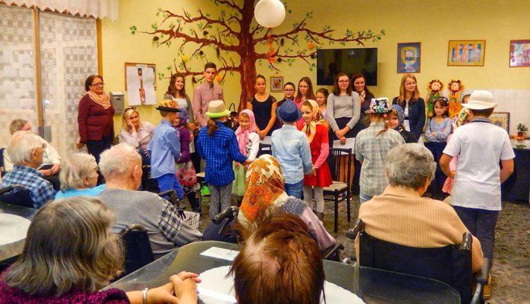 Návšteva v Centre sociálnych služieb Chmelinec