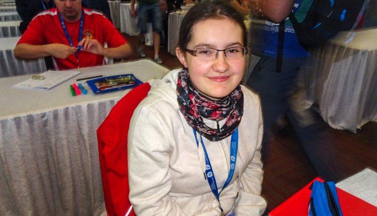 Gymnazistka Natália Chanová absolvovala už štvrtý svetový šampionát v riešení sudoku
