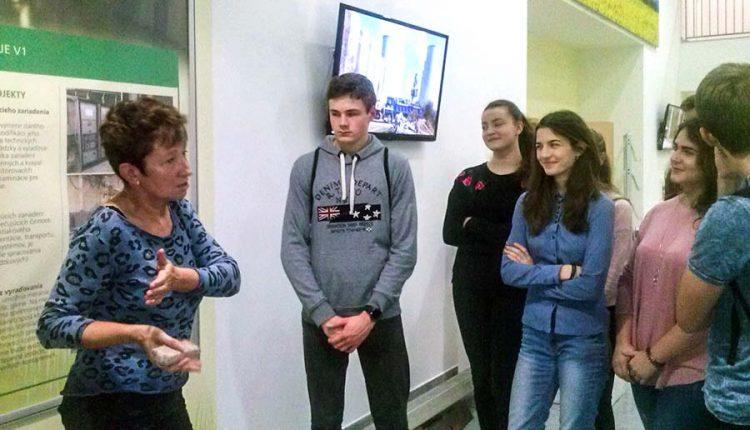 Exkurzia žiakov do atómovej elektrárne a do Vedecko-technického centra