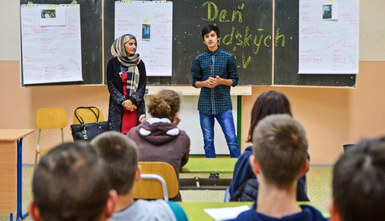 Deň ľudských práv v gymnáziu
