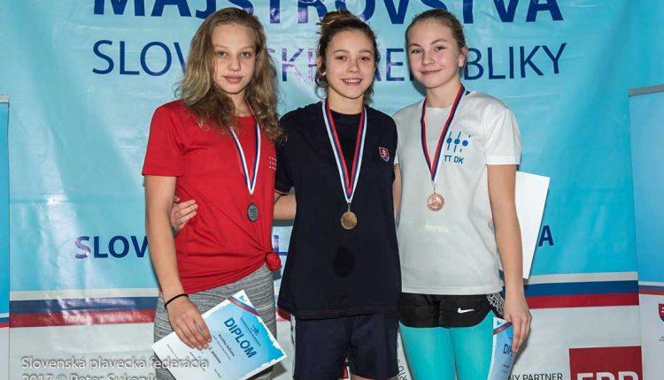 Lea Kmošenová majsterkou Slovenska, na Orave získala aj striebro a tri bronzy