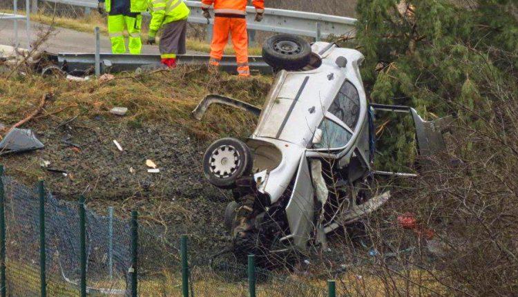 Tragická dopravná nehoda na diaľnici