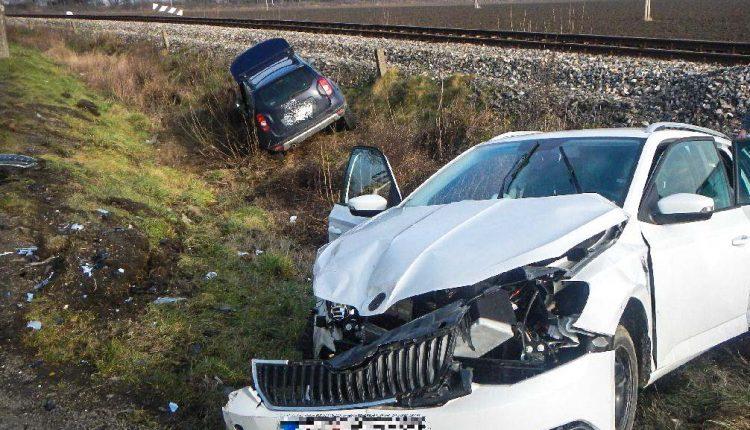 Dopravná nehoda medzi Horovcami a Pruským