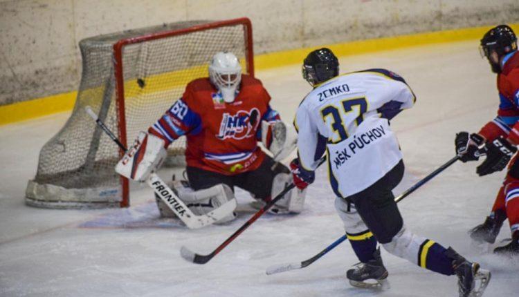 Púchovskí hokejisti vybojovali ďalšiu výhru