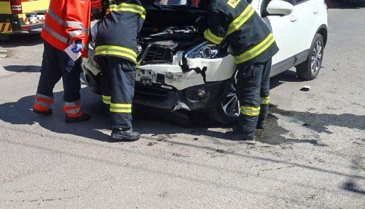 Dopravná nehoda vobci Lednické Rovne