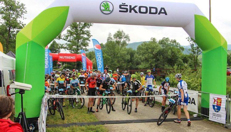 Viac ako 500 cyklistov odolalo nepriaznivému terénu a pokorilo Škoda Dohňany-Púchov Trophy maratón