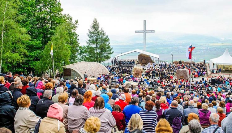 Tradičná národná púť na hore Butkov