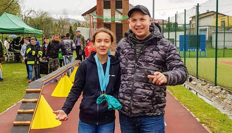 Terezka z DHZ Nosice na Tatranskom pohári 2019