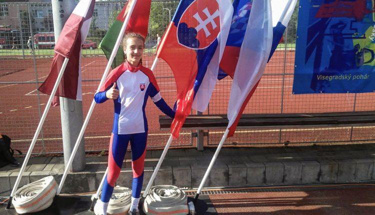 Visegrádsky pohár hasičov: v slovenskej reprezentácii aj Terezka Srogončíková