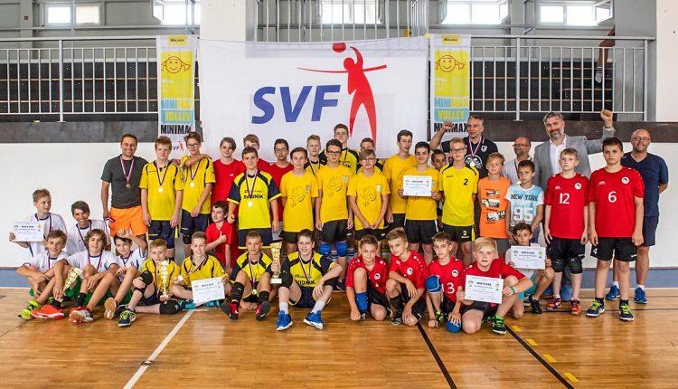 Mladí volejbalisti zo ZŠ Gorazdova štvrtí na Slovensku