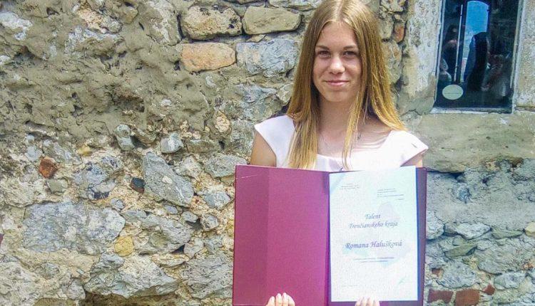 Romanka Halušková je Talent Trenčianskeho kraja 2018