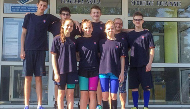 Majstrovstvá Slovenska juniorov v plávaní