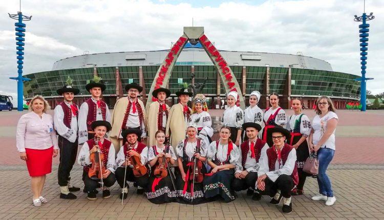 Folklórny súbor Váh v družobnom meste Babruysk