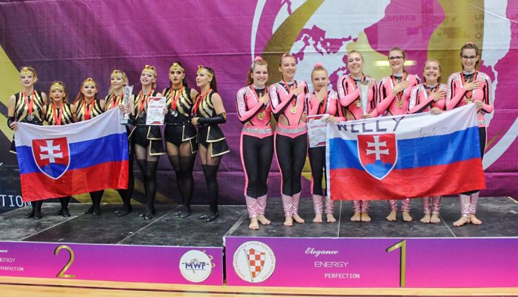 Mažoretky NELLY opäť úspešné na majstrovstvách Európy