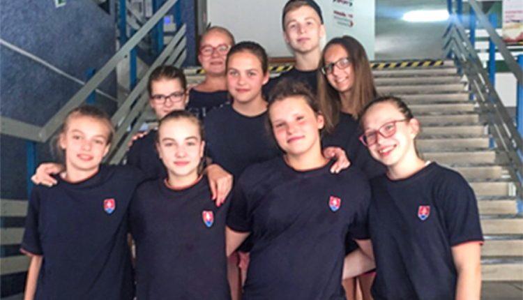 Majstrovstvá Slovenska starších žiakov v plávaní