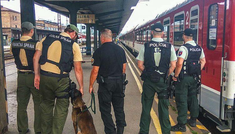 Policajná akcia na železničnej trati Žilina – Púchov