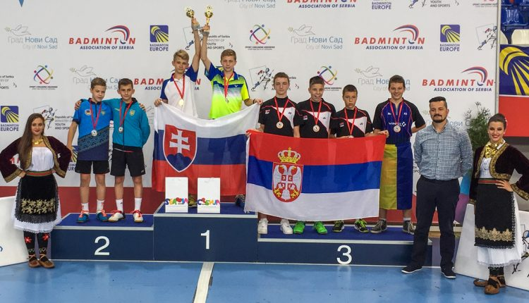 Súrodenci Kadlecovci získali na turnaji v Srbsku zlaté medaily vo štvorhrách