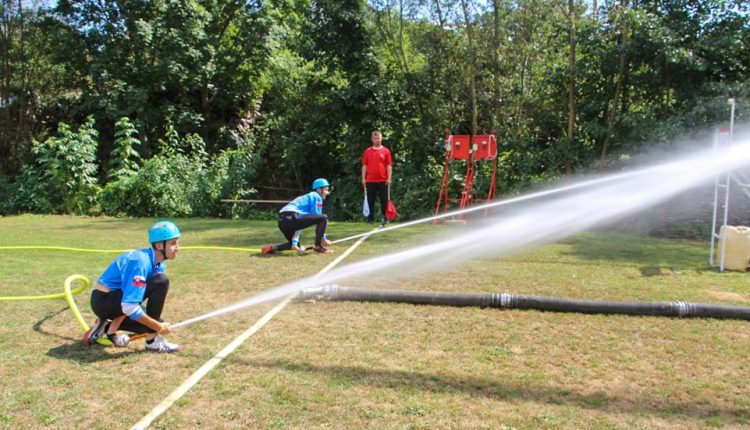 Horný Lieskov hostil druhý ročník hasičskej súťaže o putovný pohár