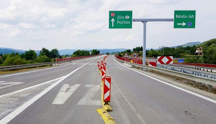 Po šiestich týždňoch sa obnovila premávka na rýchlostnej ceste R6