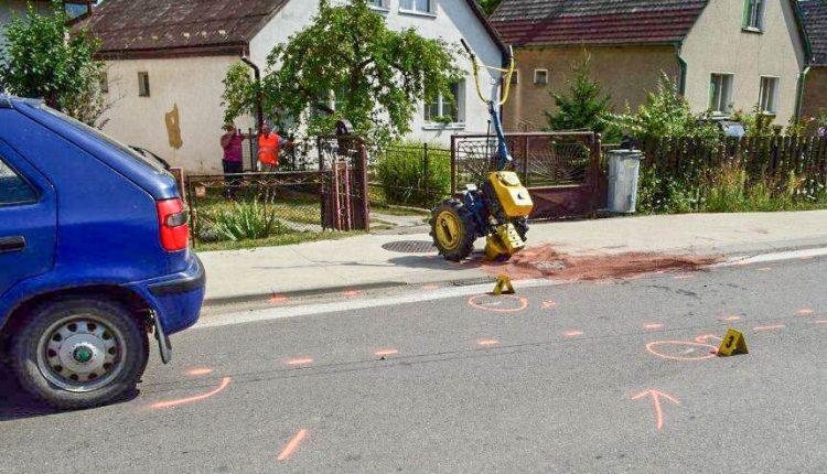 FOTO: Vodič malotraktoru sa pred jazdou potúžil alkoholom