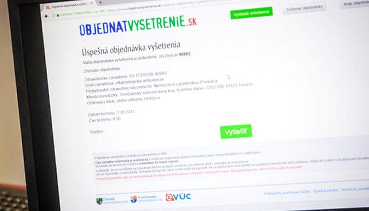 Počet ambulancií v Trenčianskom kraji, v ktorých sa dá elektronicky objednať na vyšetrenie, postupne rastie