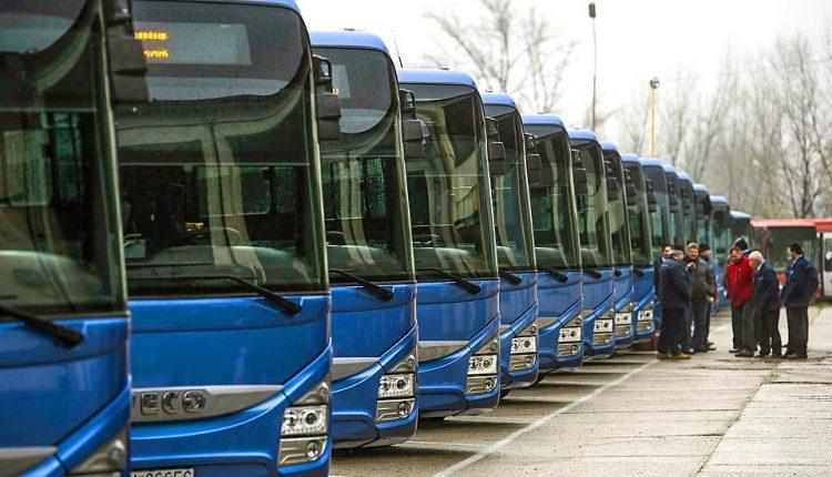Celý budúci týždeň môžete v kraji cestovať modrými autobusmi za polovičnú cenu