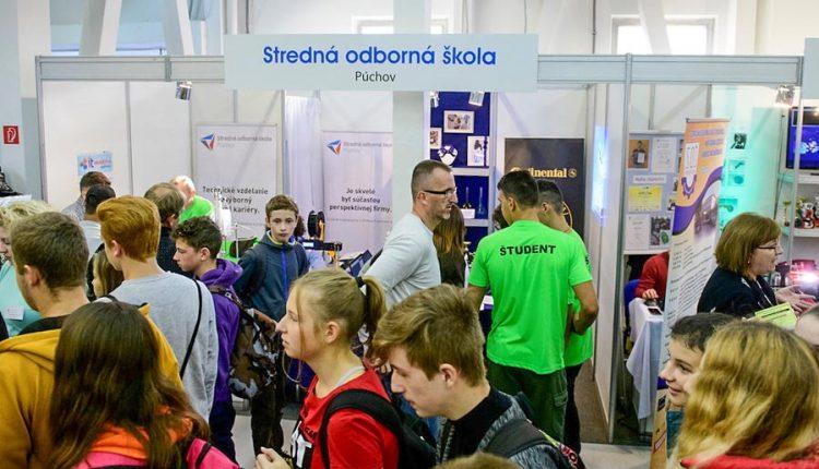 Dvadsiaty ročník výstavy stredných škôl Stredoškolák – Hrdina remesla